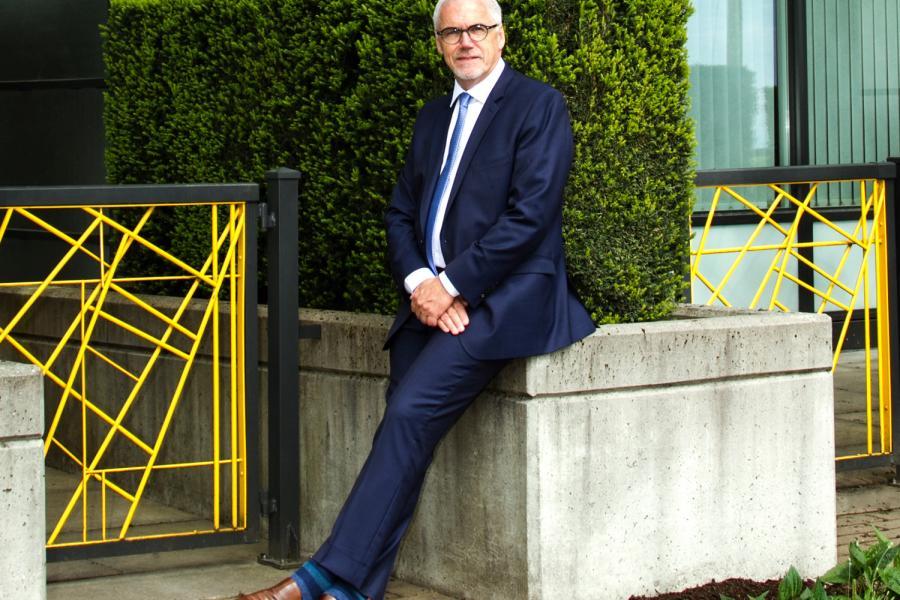 Gordon Harris, UniverCity, sustainable development, burnaby