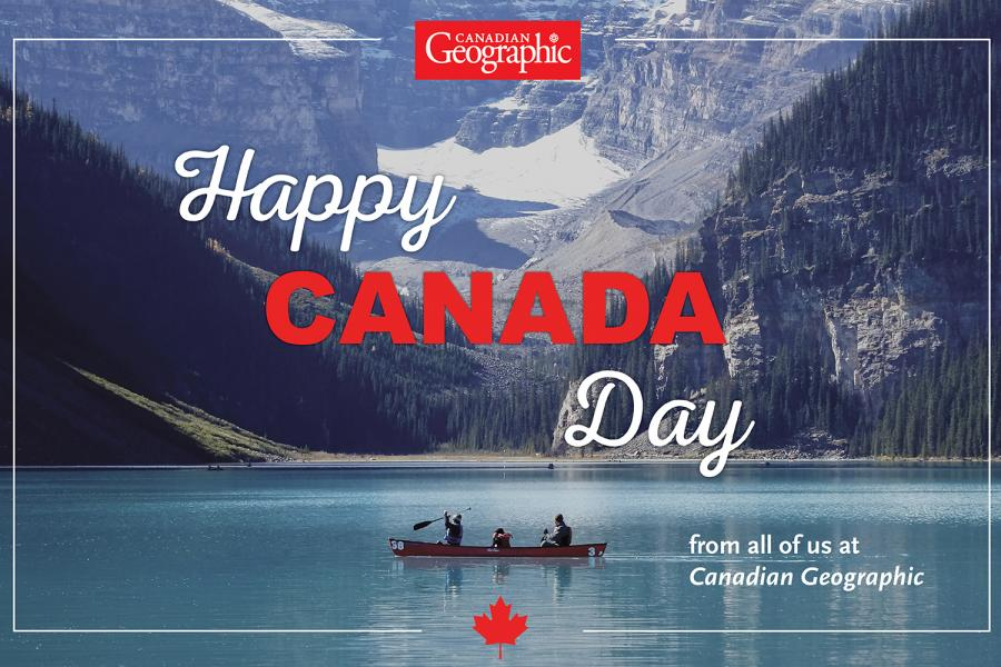 Happy Canada Day 2017 can geo