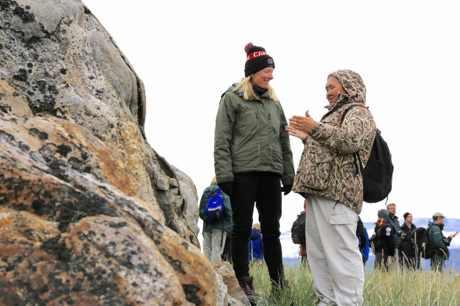 Catherine McKenna at Torngat Mountains National Park