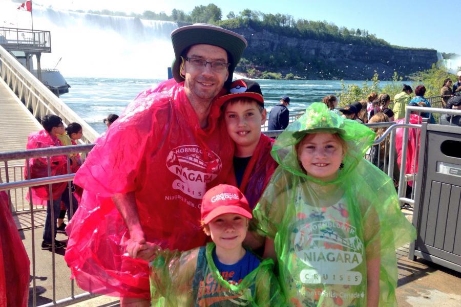 Tilley Paddler's Hat, niagara falls, waterproof, ontario