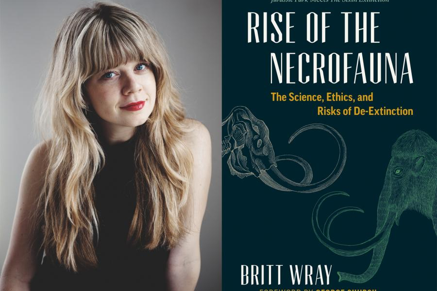 Author Britt Wray and Rise of the Necrofauna