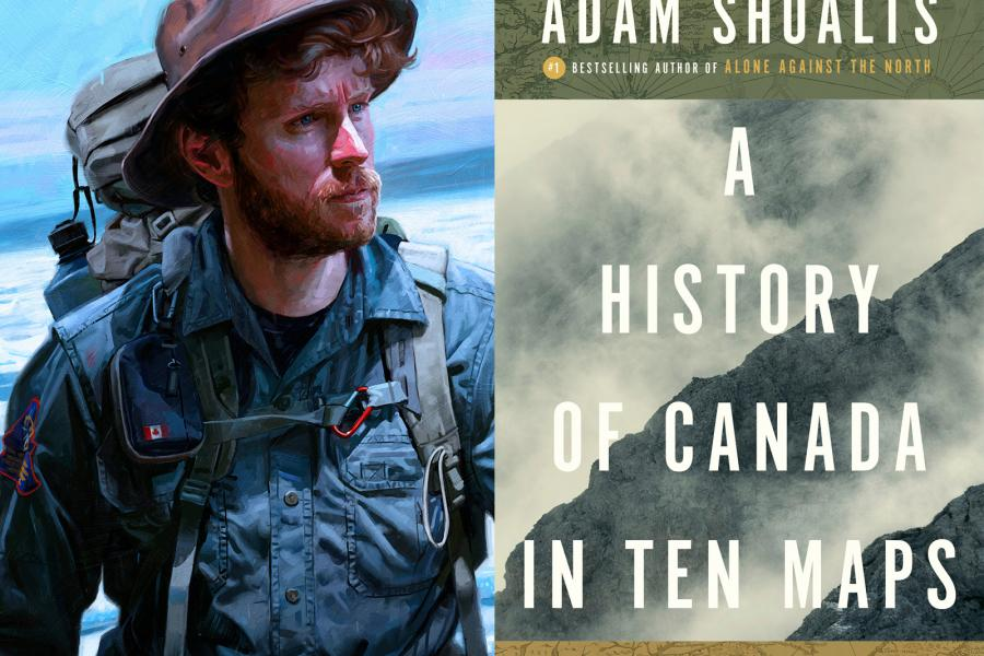 Adam Shoalts A history of Canada in 10 maps