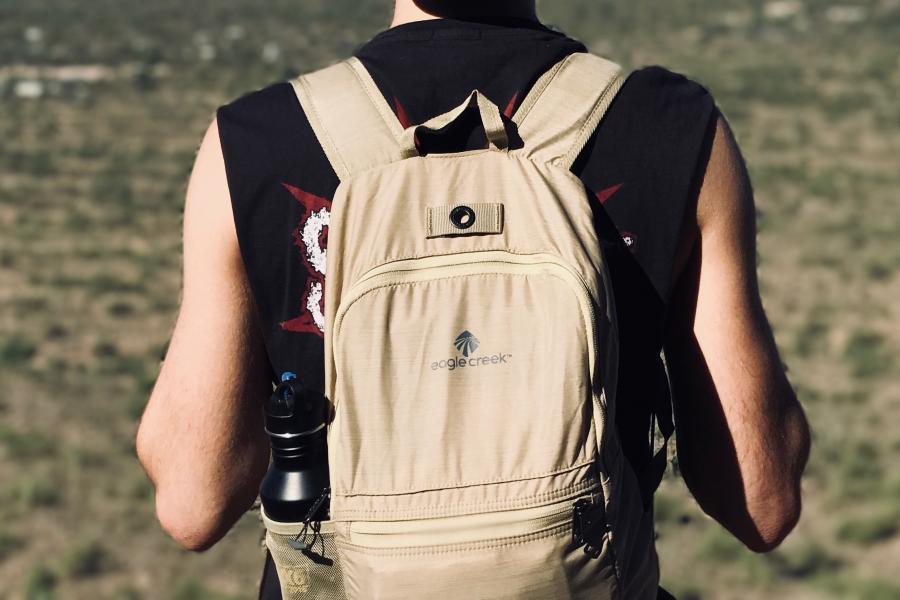 Eagle Creek, daypack, backpack, hiking, travel, knapsack