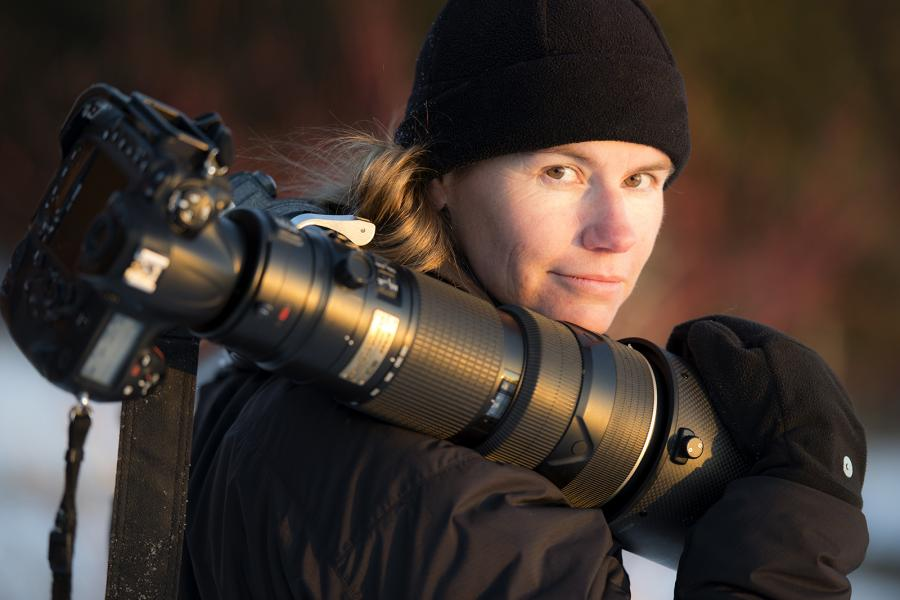 Wildlife photographer Daisy Gilardini