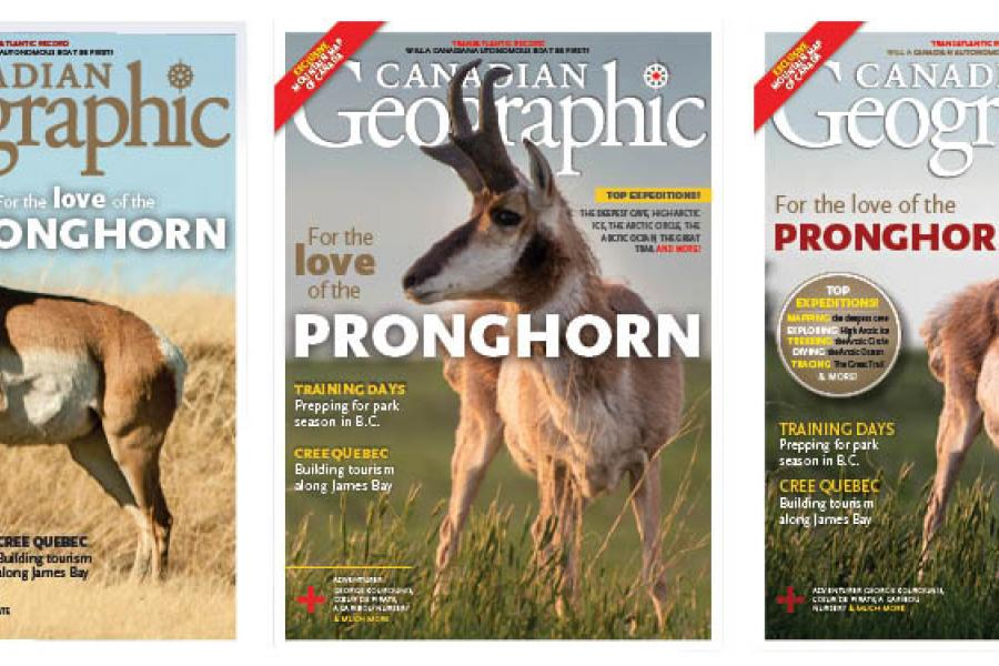 Canadian Geographic May/June 2018 issue