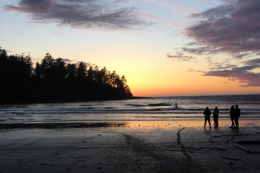Sunset on North Beach, Haida Gwaii