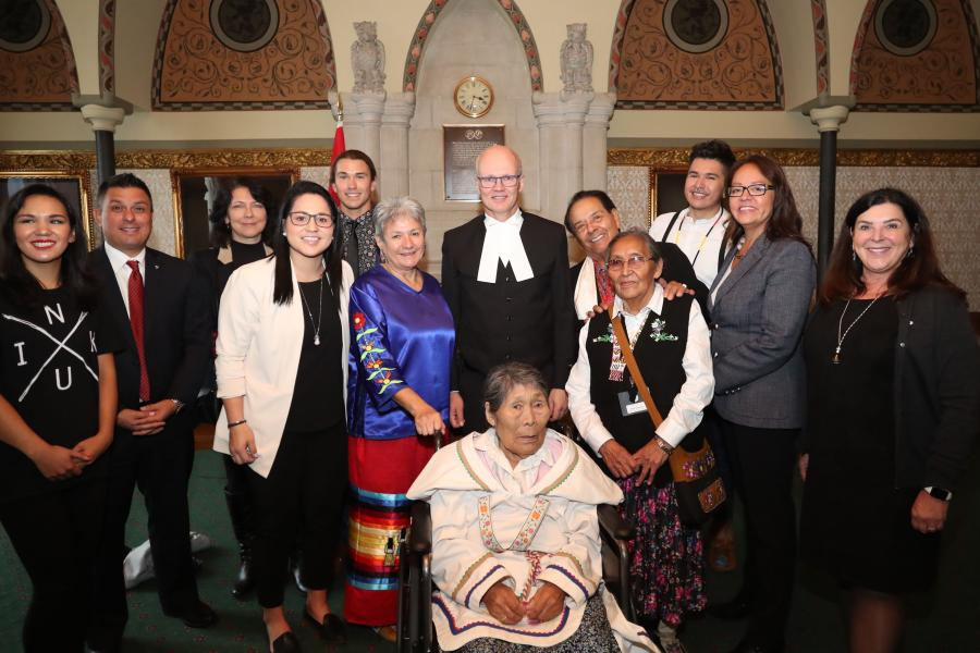 2019 Indspire award winners group photo