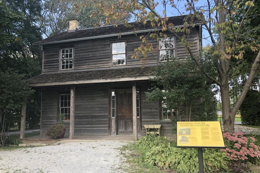 Josiah Henson, log cabin, Ontario, historic site
