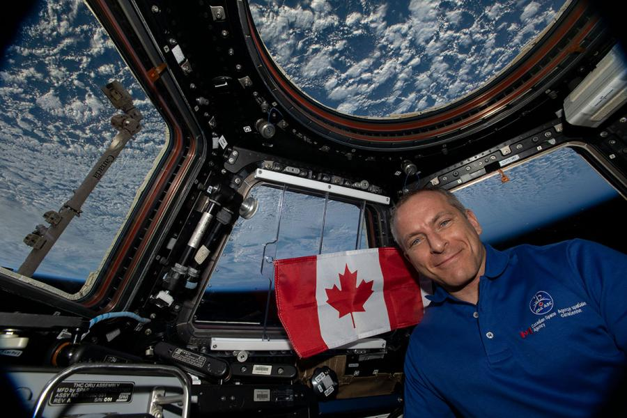 David Saint-Jacques International Space Station