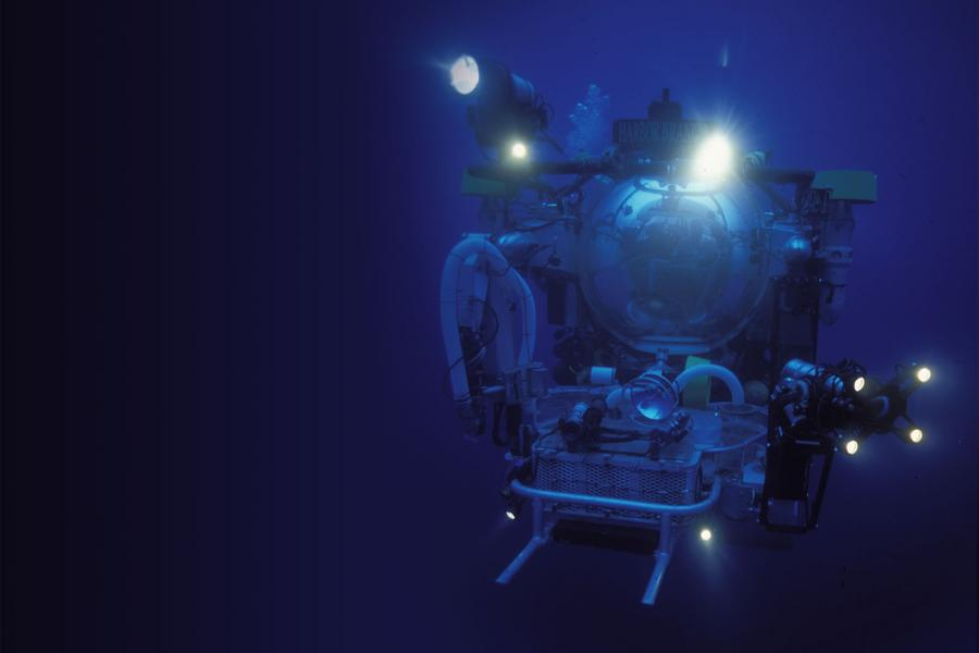 Johnson Sea Link research sub