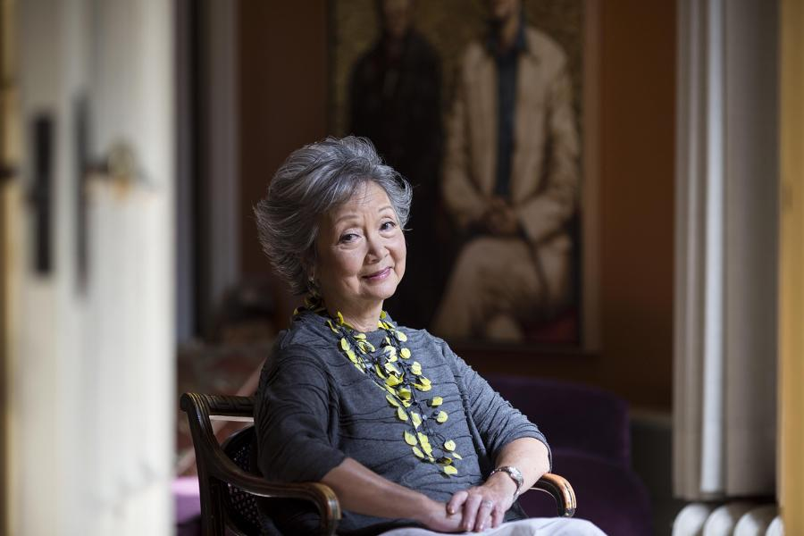 portrait of Adrienne Clarkson
