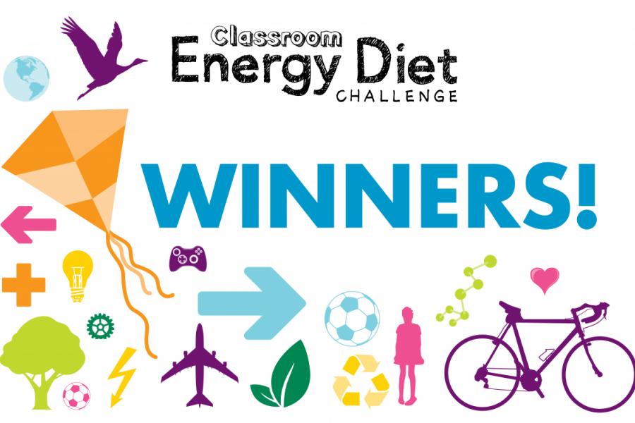 Classroom Energy Diet Challenge winners