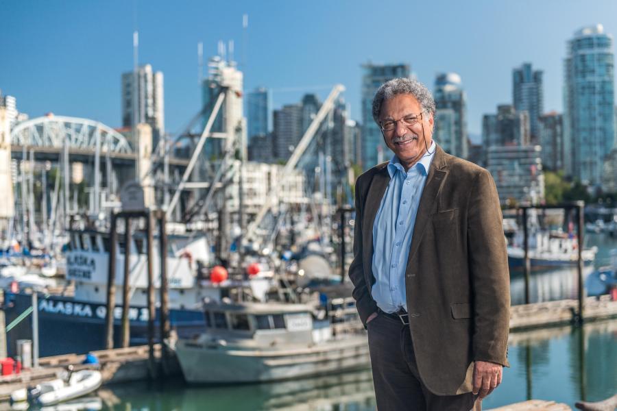 Daniel Pauly, author of Vanishing Fish