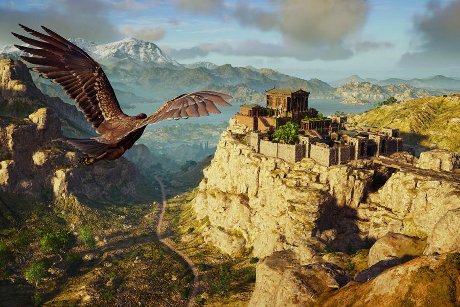 Assassin's Creed Odyssey landscape