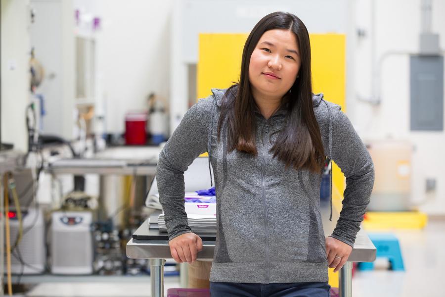 2019 Rolex Awards for Enterprise laureate Miranda Wang