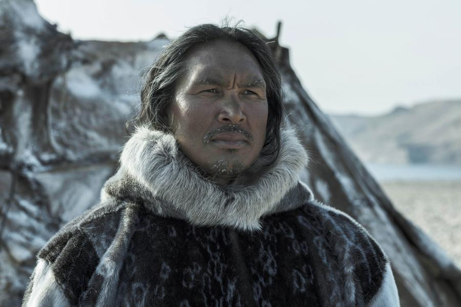 Johnny Issaluk in AMC's The Terror.