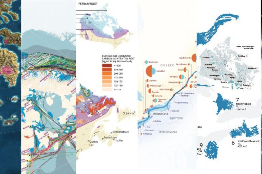 Best Canadian Geographic maps 2019