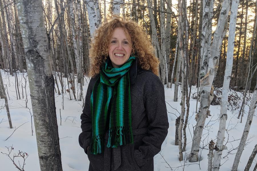 Northern Ontario teacher Michelle Parrish