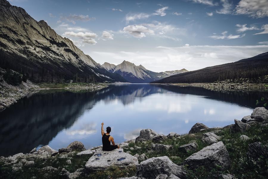 Medicine Lake Jasper National Park