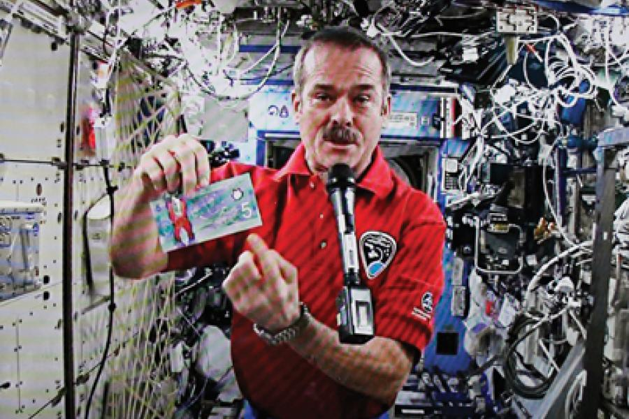 Astronaut Chris Hadfield captured the world's attention with YouTube videos from space.