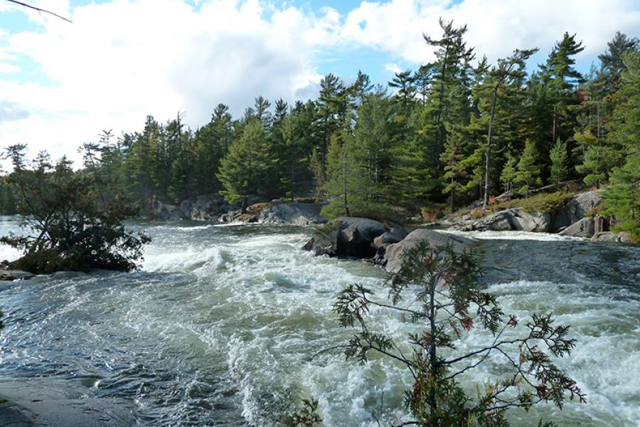 Ontario's historic French River was used for centuries as a gateway to Canada's West