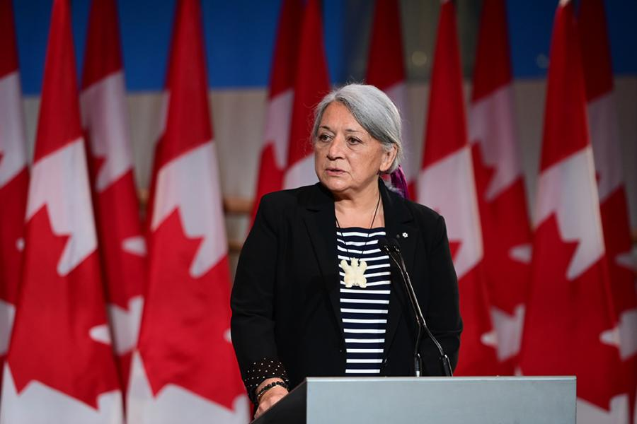 Mary Simon, an Inuk leader and former Canadian diplomat, has been named Canada's Governor General.