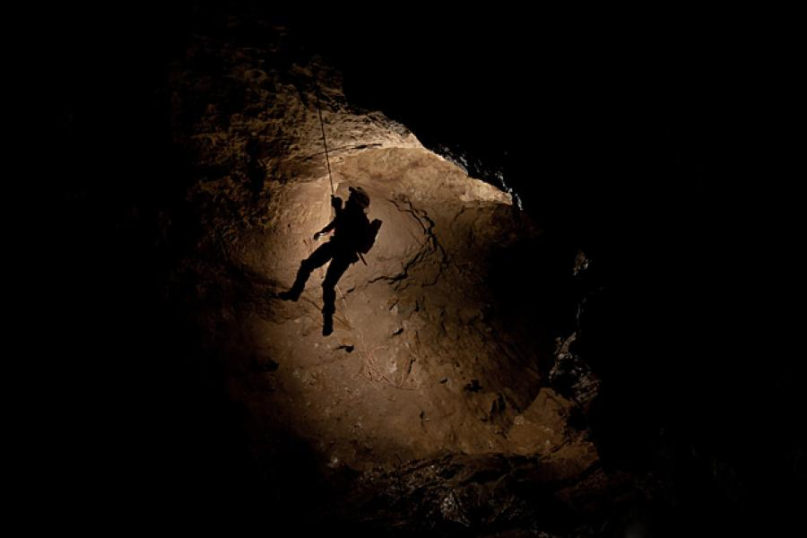 Caving began to gain a foothold in Canada in the mid-1960s