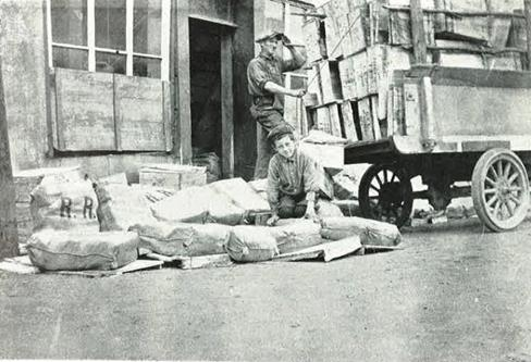 Halter's warehouse, Rue de Grand Chain