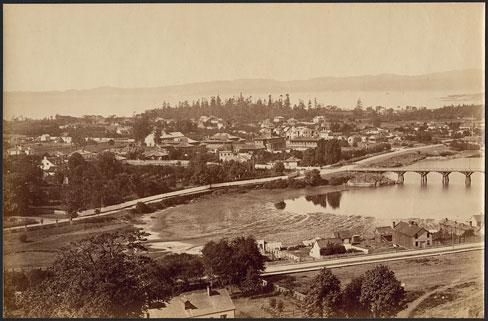 Panorama of Victoria, 1880s