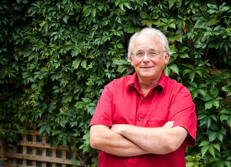 Owen Beattie at his home in Edmonton