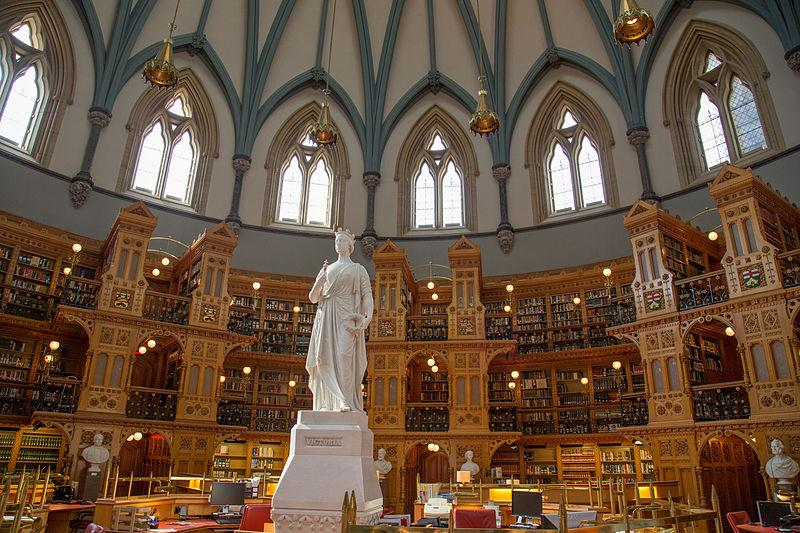 Library of Parliament, Ottawa, Ont. (Tony Webster/Wikimedia Commons)