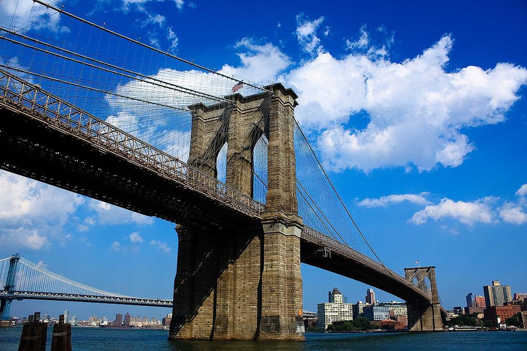 The view of Brooklyn Bridge from Manhattan (Photo: Suiseiseki/Wikimedia Commons)