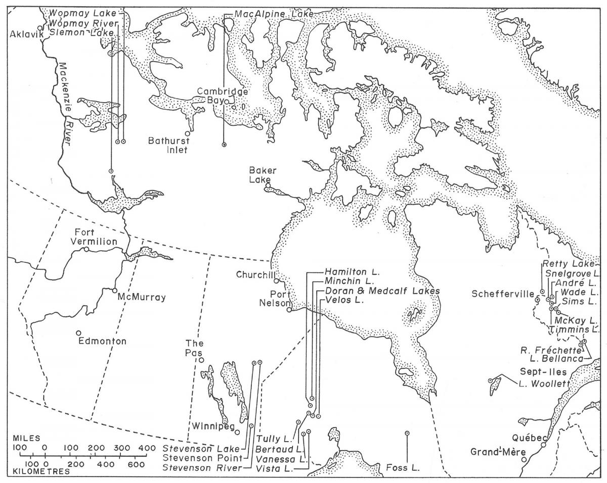 Map: Canadian Geographic Archives