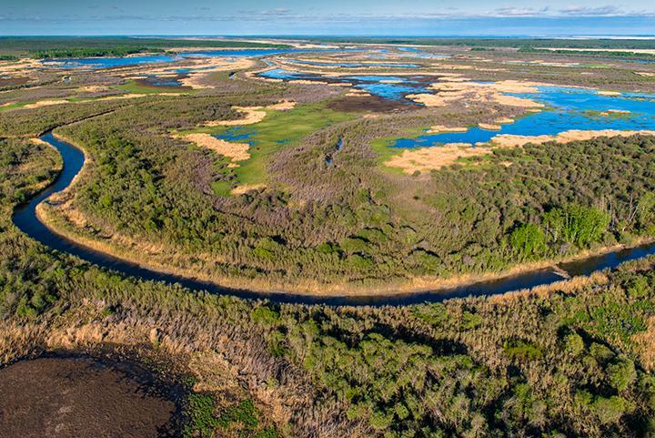 The Saskatchewan Delta. (Photo: Garth Lenz/Canadian Geographic)