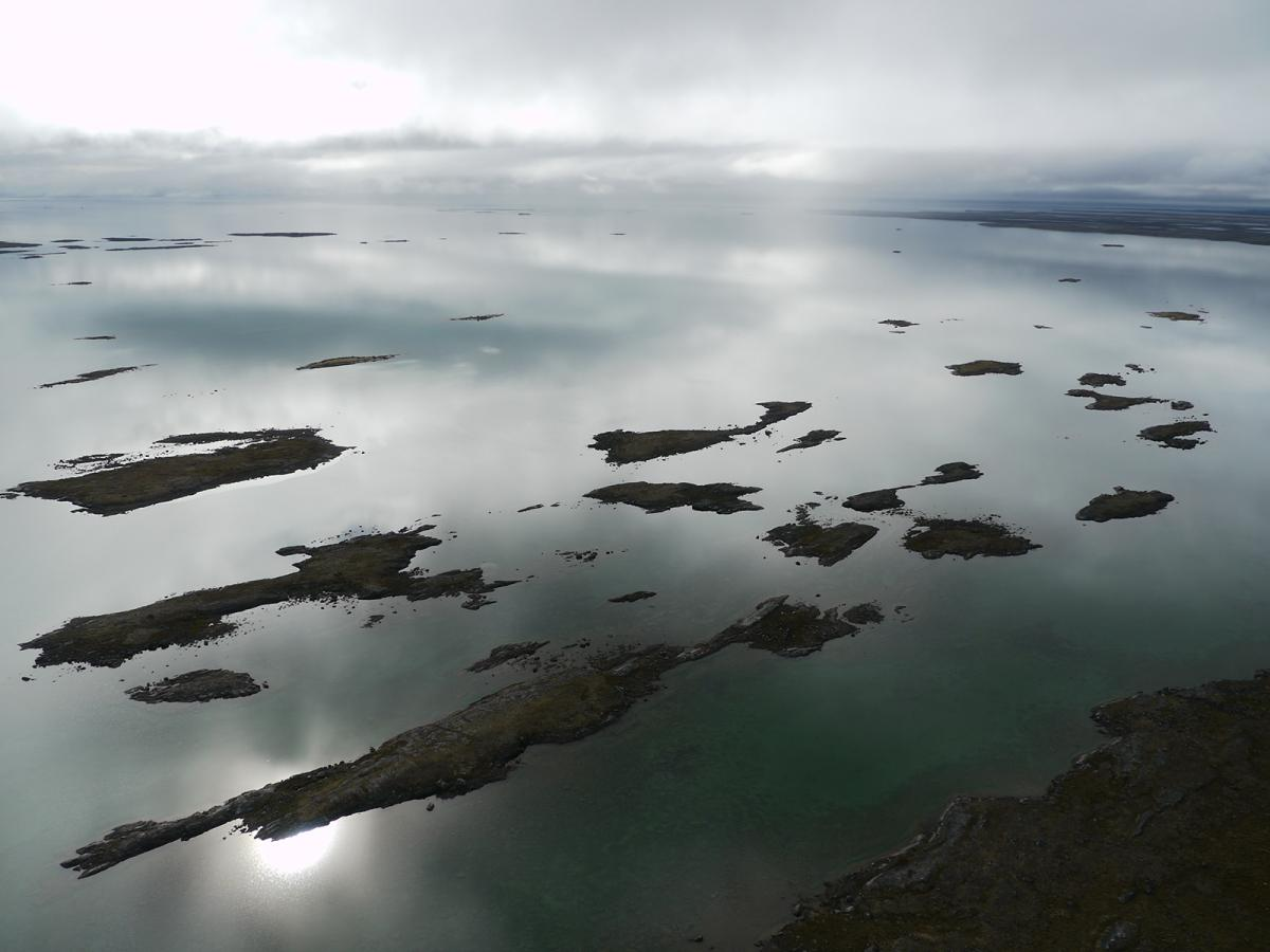 Nettilling Lake, Baffin Island, Nunavut