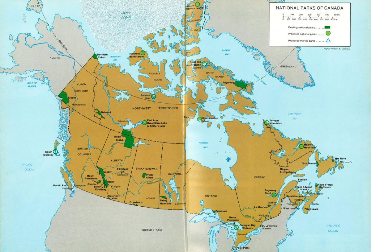 Map Of Canada East.Throwback Thursday Canada S First Marine National Park Canadian