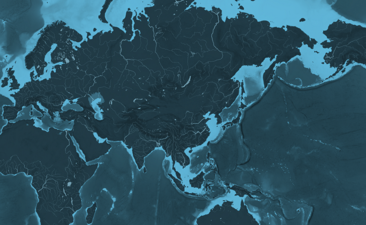 Mapping cargo ship routes around the world | Canadian Geographic on