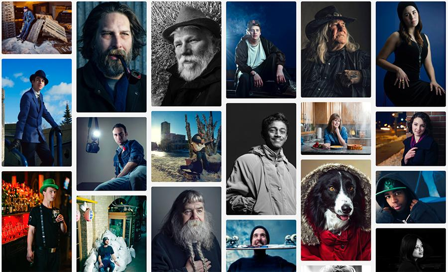 "Beginning January 1, 2013, local Winnipeg freelance photographer David Lipnowski began a long term, personal project entitled ""A portrait a day: 2013."""