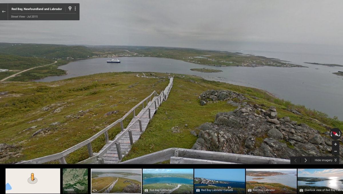 Google Street View Maps More Of Canada S North Canadian
