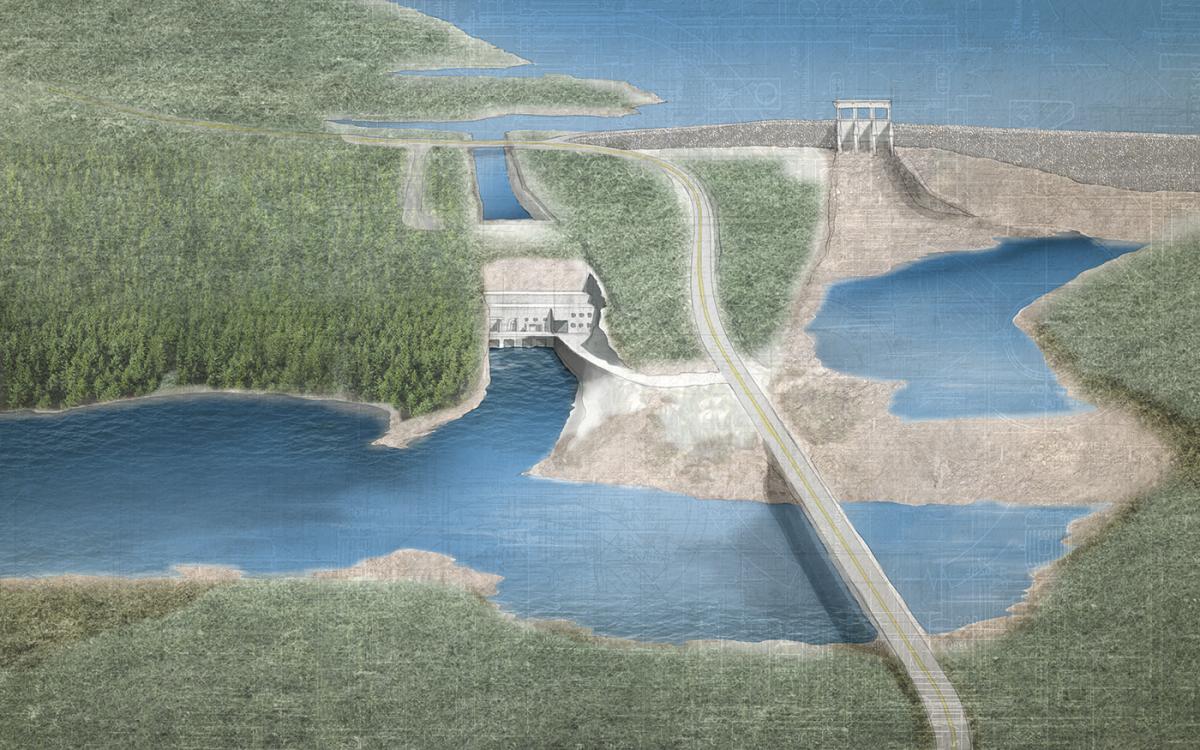 Quebec — La Romaine-1 generating station