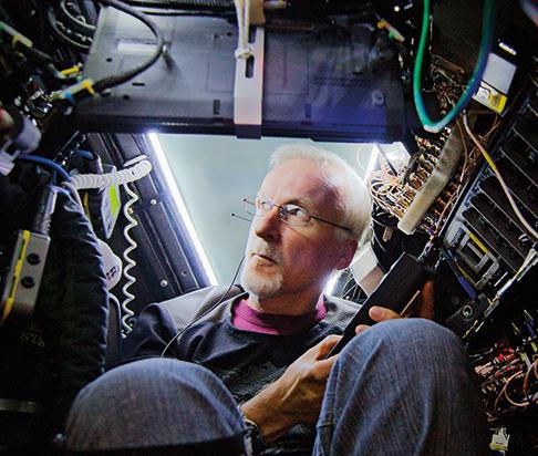 Filmmaker James Cameron regularly pilots subs.