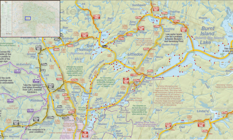 Map Of Algonquin Park How Jeff's Maps are improving backcountry travel in Ontario parks