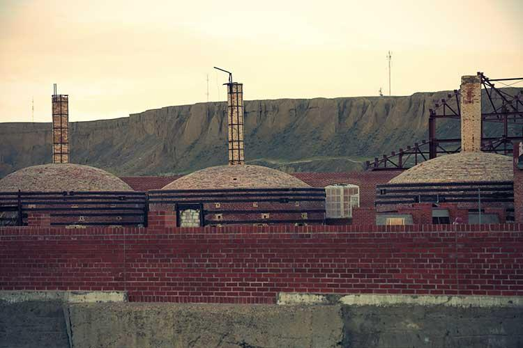 Medalta kiln structures