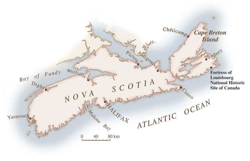 Louisburg Canada Map Volunteer vacations: Digging up Louisbourg | Canadian Geographic