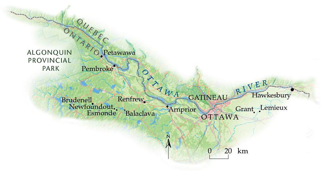 Ottawa Valley Ghost Towns Standing Legacy Canadian Geographic