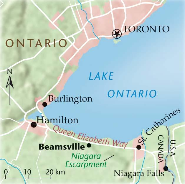 Map Of Beamsville Ontario Canada Farm fresh cookin' | Canadian Geographic