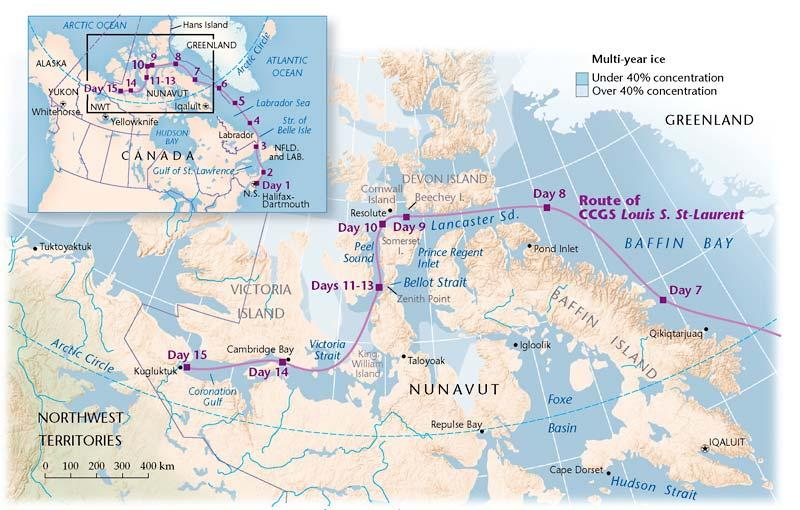 Policing The Northwest Passage Canadian Geographic