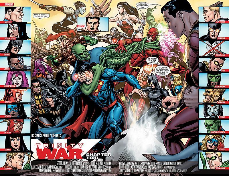 Justice League of America artwork