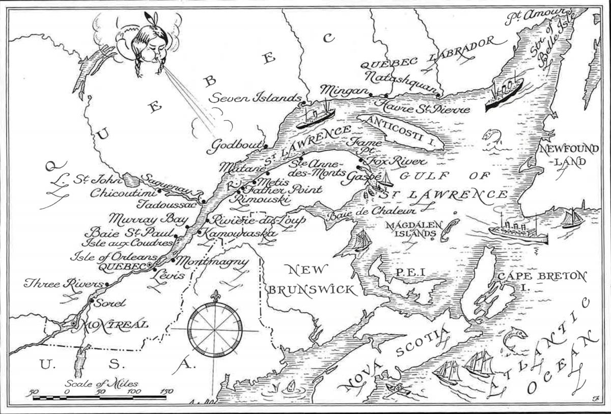Wilfrid map