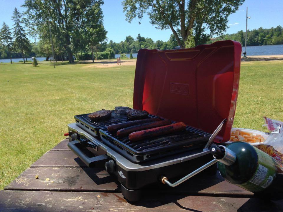 Coleman portable stove